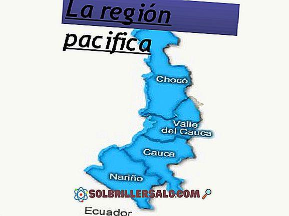 Kolumbijos Ramiojo vandenyno regiono departamentai