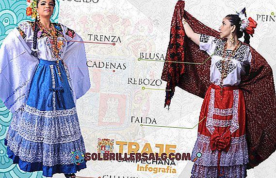 Typische Kostüme von Campeche: Hauptmerkmale