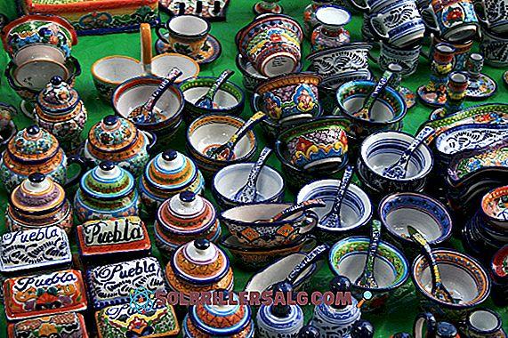5 Kerajinan Puebla Paling Populer