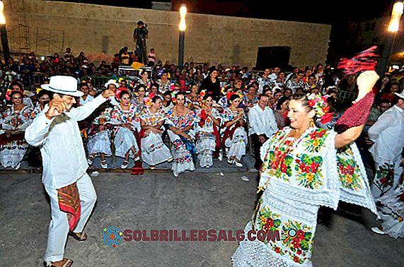 5 tarian dan tarian Campeche terpopuler