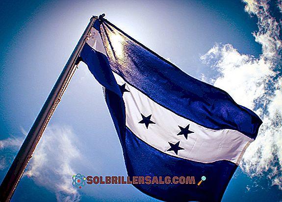 Steagul Hondurasului: istorie și semnificație