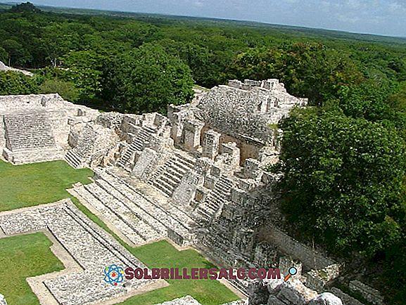 De 5 arkeologiske sonene i Campeche Flere høydepunkter