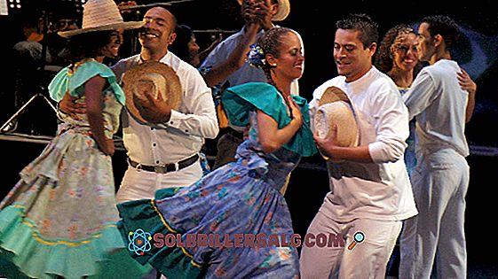 Orinoquía bölgesinin tipik kostümleri
