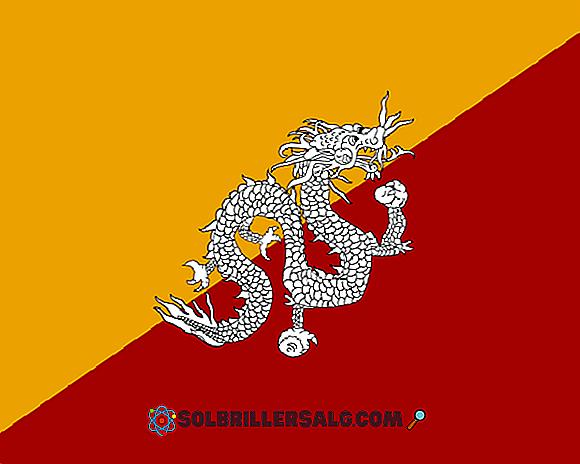 علم بوتان التاريخ والمعنى