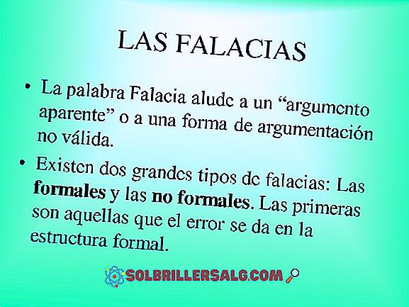 Fallacies: Definisjon, Typer og Eksempler