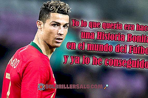 De 50 beste setningene til Cristiano Ronaldo