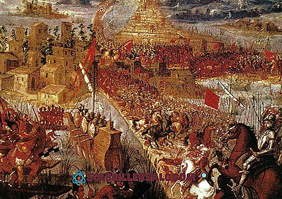 In welchem Jahrhundert eroberten die Spanier die Stadt Tenochtitlán?