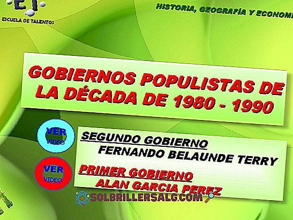 Fernando Belaúndes andra regering: bakgrund och egenskaper