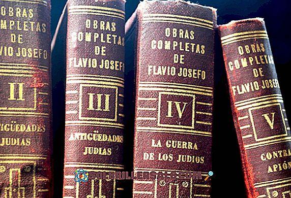 Flavio Josefo: Biografi, tanke och verk
