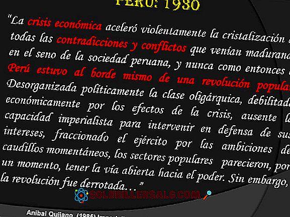 Dritter Militarismus in Peru: Ursachen, Merkmale, Präsidenten und Konsequenzen