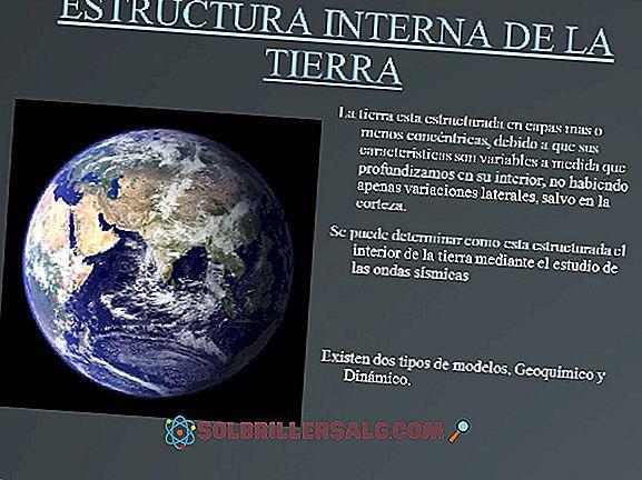 Structure interne de la Terre: les couches et leurs caractéristiques