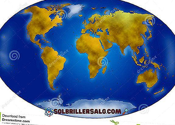 Importanza della distribuzione delle acque continentali nel mondo e in Messico