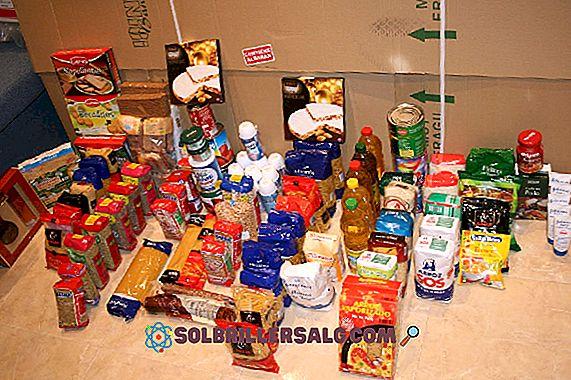 Elenco di 25 alimenti non deperibili (comune)